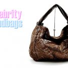AFFIRMATION women's brown Suedessence pattern fabric fashion handbag on sale.