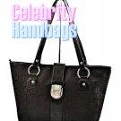 AFFIRMATION women's black Signature tote fashion handbag on sale.