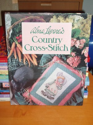 OOP Alma Lynne's - Country Cross - Stitch HC Book