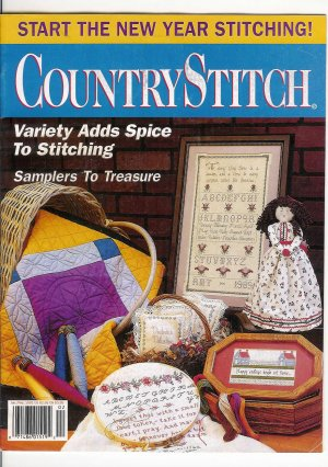 Country Stitch  Jan/Feb 92' Magazine