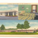ALLENDALE MOTOR COURT, US 301 ALLENDALE SOUTH CAROLINA   Vintage Postcard     #168