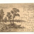 PLEASE WRITE, LAKE VIEW, VINTAGE 1911 POSTCARD   140