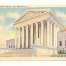 U.S. SUPREME COURT BUILDING WASHINGTON D.C. POSTCARD    #176
