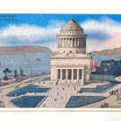 GRANT'S TOMB NEW YORK CITY, VINTAGE 1938 POSTCARD   #177