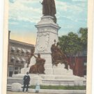 EDWARD VII MONUMENT, MONTREAL VINTAGE POSTCARD #205