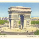 ARC de TRIOMPHE PARIS, TRANS WORLD AIRLINES POSTCARD   #206