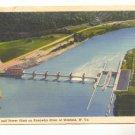 LOCK, DAM AND POWER PLANT KANAWHA RIVER WINFIELD W VA   #456