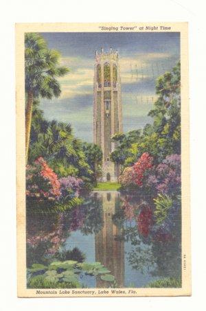 SINGING TOWER MNT. LAKE SANCTUARY LAKE WALES FLORIDA Postcard #457