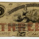 Boston, Howard Banking Co., $3, Jan 2, 1856