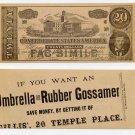 Boston, Gillis', $10 CSA Fac-Simile advertising note