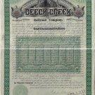 Beech Creek Railroad $1000 Bond, 1886