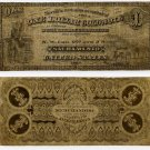 "Sacramento, CA, ""One Dollar Gold Note"", 1883"