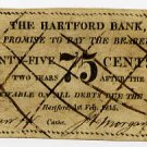 Hartford Bank, Connecticut, 75 Cents, 1815, Counterfeit