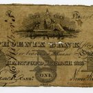 Hartford, Ct., Phoenix Bank, 1 Dollar, 1818