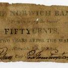 Norwich, Connecticut, 50 Cents, 1815
