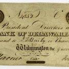 Wilmington, Bank of Delaware, $2, 1839
