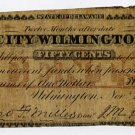 Wilmington, City of Wilmington, 50 Cents, Nov 1, 1862