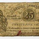 Haverhill, Haverhill Association, 25 Cents, 1862