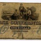 Connersville, Bank of Connersville, $1, 1852