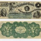 Illinois, Quincy, College Currency, $5, 1873