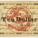 Illinois, Woodstock, Heinz, Noble & Co., $10, October 1, 1875