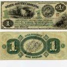 State of South Carolina, $1, 1873