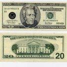 2001 $20 FRN ERROR, Overinked Seal