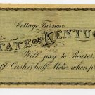 Cottage Furnace, Cottage Furnace Iron Manufacturing Co., 50 Cents, 1860s