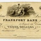 Frankfort, Frankfort Bank, $3, 18--, (1818-20)