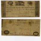 Lexington, City of Lexington, 50 Cents, May 24, 1837