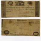 Lexington, Kentucky Insurance Company, $1, April 3, 1816
