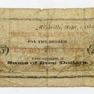 Montville, W Langdon? & Co., 25 Cents, Sept 1, 1862