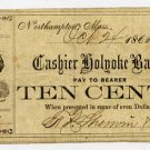 Northampton, FR Sherwin & Co., 10 Cents, Oct 24, 1862