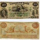 Louisiana, New Orleans, Citizens Bank of Louisiana, $10, Dec 1, 1859