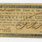 Louisiana, Opelousas, Town of Opelousas, 25 Cents, 1862