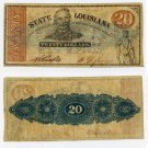 Louisiana, Shreveport, State of Louisiana, $20, 1863, Serial #2