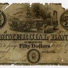 Millington, Commercial Bank of Millington, $50, Oct 23, 1839