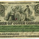 State of South Carolina, $20, 1873
