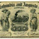 Charlotte, Columbia and Augusta RailRoad, 10 (Dollars), 1873