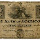 Florida, Pensacola, Bank of Pensacola, $2, Feb 4, 1840