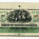 State of South Carolina, Columbia, $5, January__1866