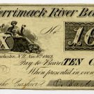 New Hampshire, Manchester, O Barton & Co ?, 10 Cents, Nov 8, 1862