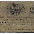 Pennsylvania, County of Philadelphia, 20 Cents, May 23, 1837