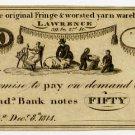 Pennsylvania, Philadelphia, 50 Cents, Dec 8, 1814