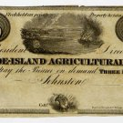 Rhode Island, Johnston, Rhode Island Agricultural Bank, $3, 18--, (1830s)
