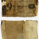 New York, Albany, Corporation of the City of Albany, 9 Cents, January 10, 1815