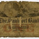 New York, Frankfort, Frankfort Bank, $1, May 1, 1861