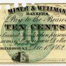New York, Friendship, M.C. Mulkin & Co., 10 Cents, Dec 1, 1862