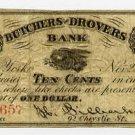 New York, New York, R. Silberhorn, 10 Cents, Nov 22, 1862
