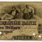 New York, New York, Corn Exchange Bank, $3, 186?